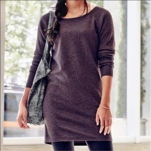 Athleta solitude merino extra fine wool dress